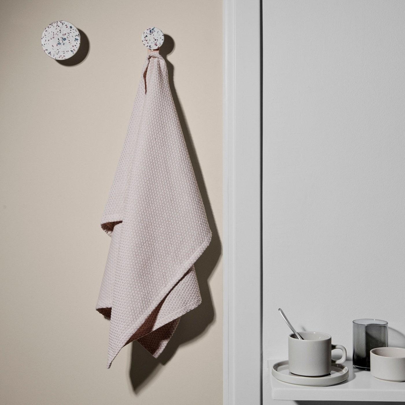 Obrázek z Háčky na zeď PONTO SET/4ks mramor bílý
