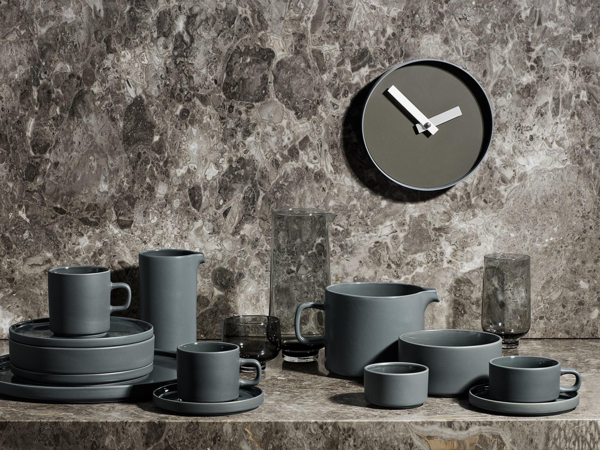 Obrázek z Nástěnné hodiny RIM malé šedé