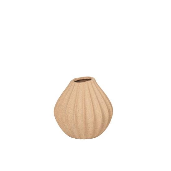 Váza WIDE 15 cm písková_0