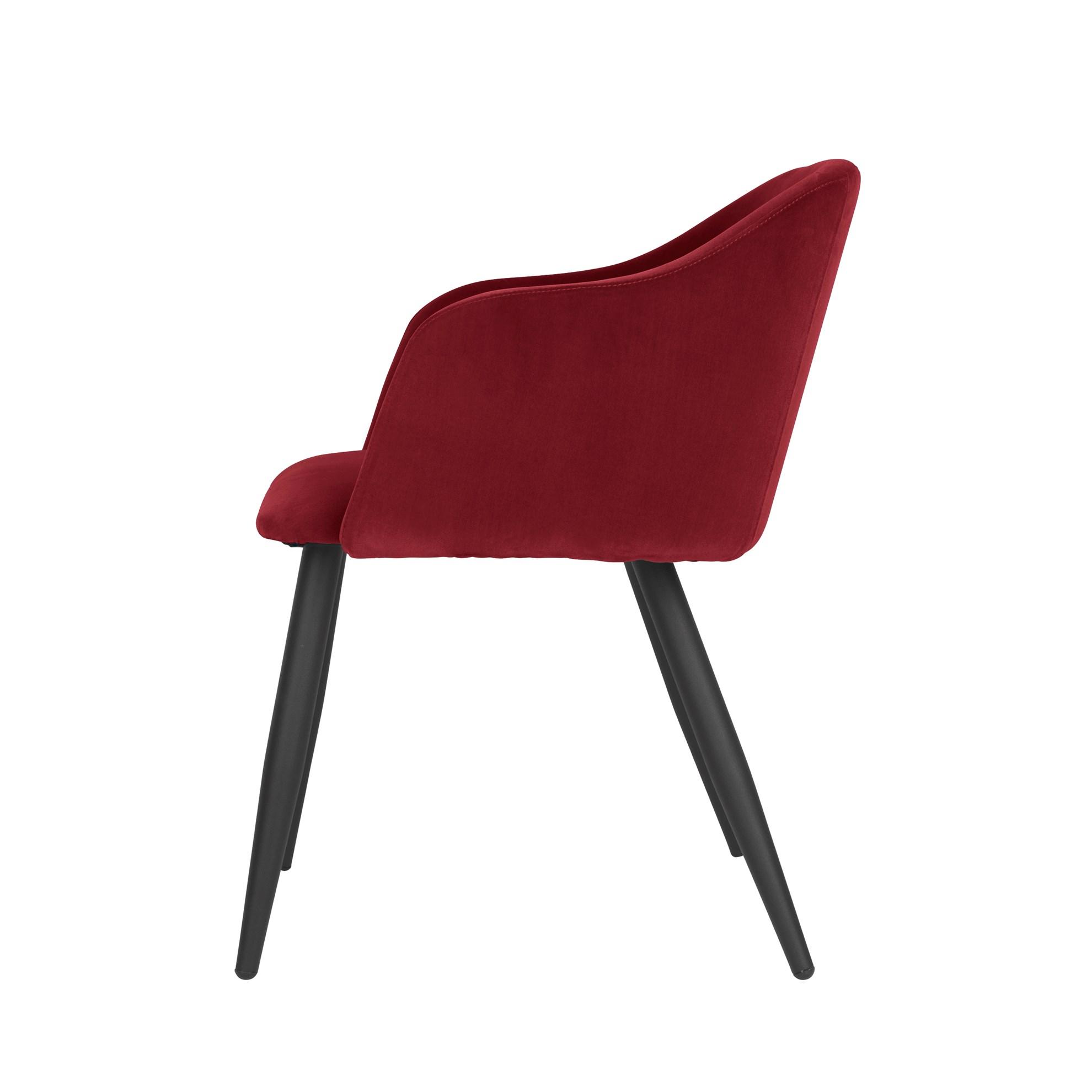 Jídelní židle PERNILLA červená_2