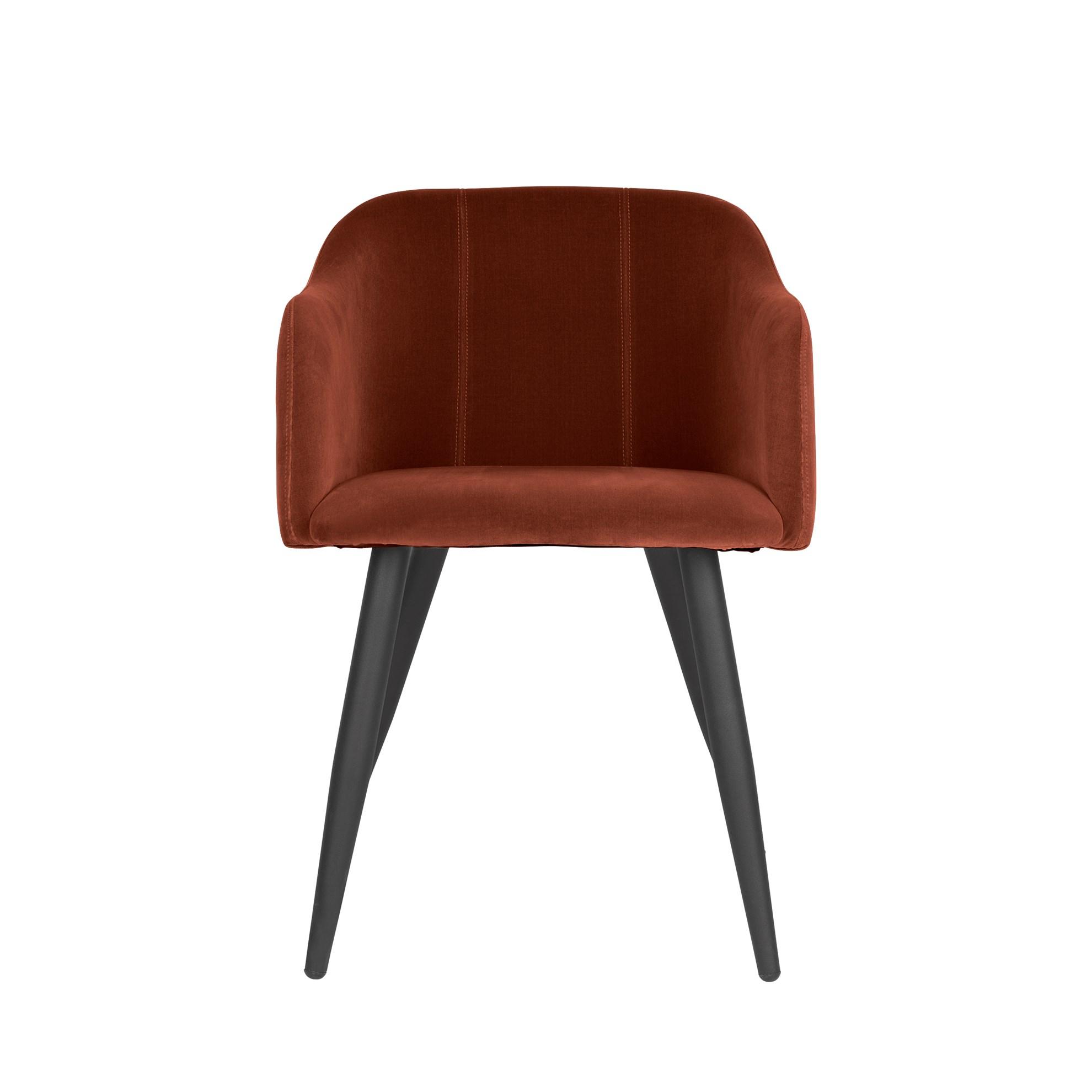 Jídelní židle PERNILLA cihlová_0