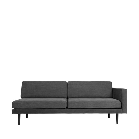 Sofa s levou područkou OCEAN šedý_0