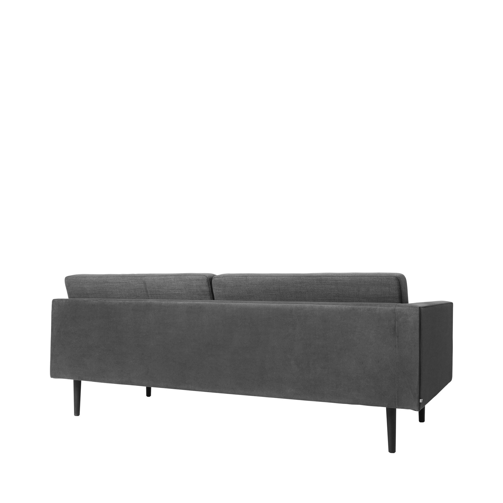 Sofa s pravou područkou OCEAN šedý_1