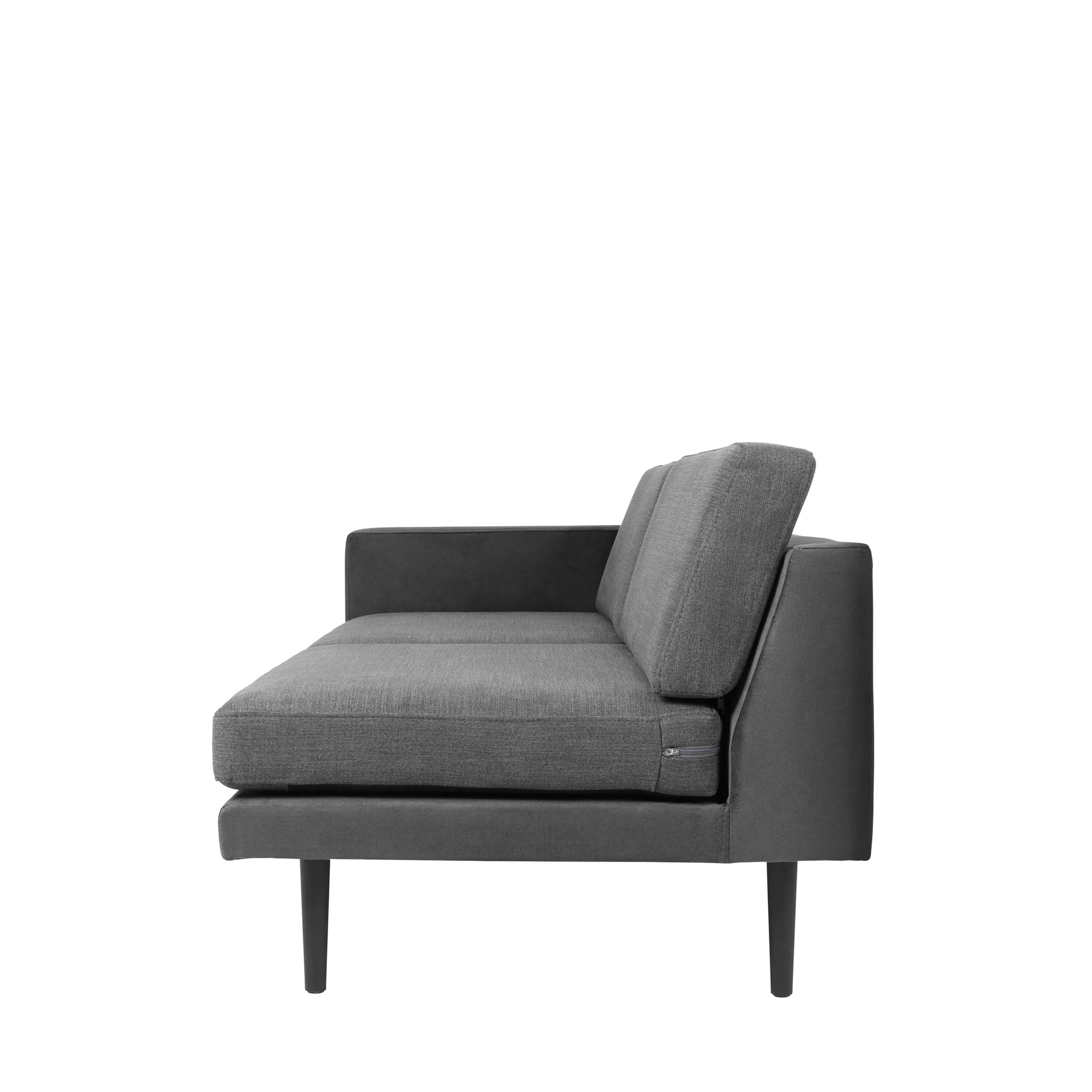 Sofa s pravou područkou OCEAN šedý_2