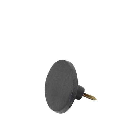 Háček oválný GRETEL 10x7 cm černý_0