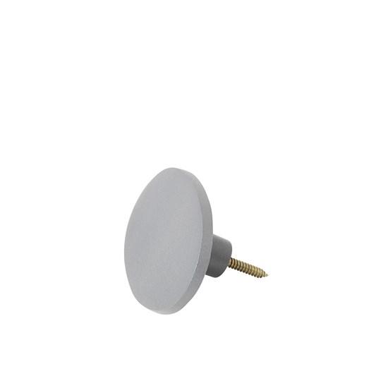 Háček oválný GRETEL 10x7 cm šedý_0