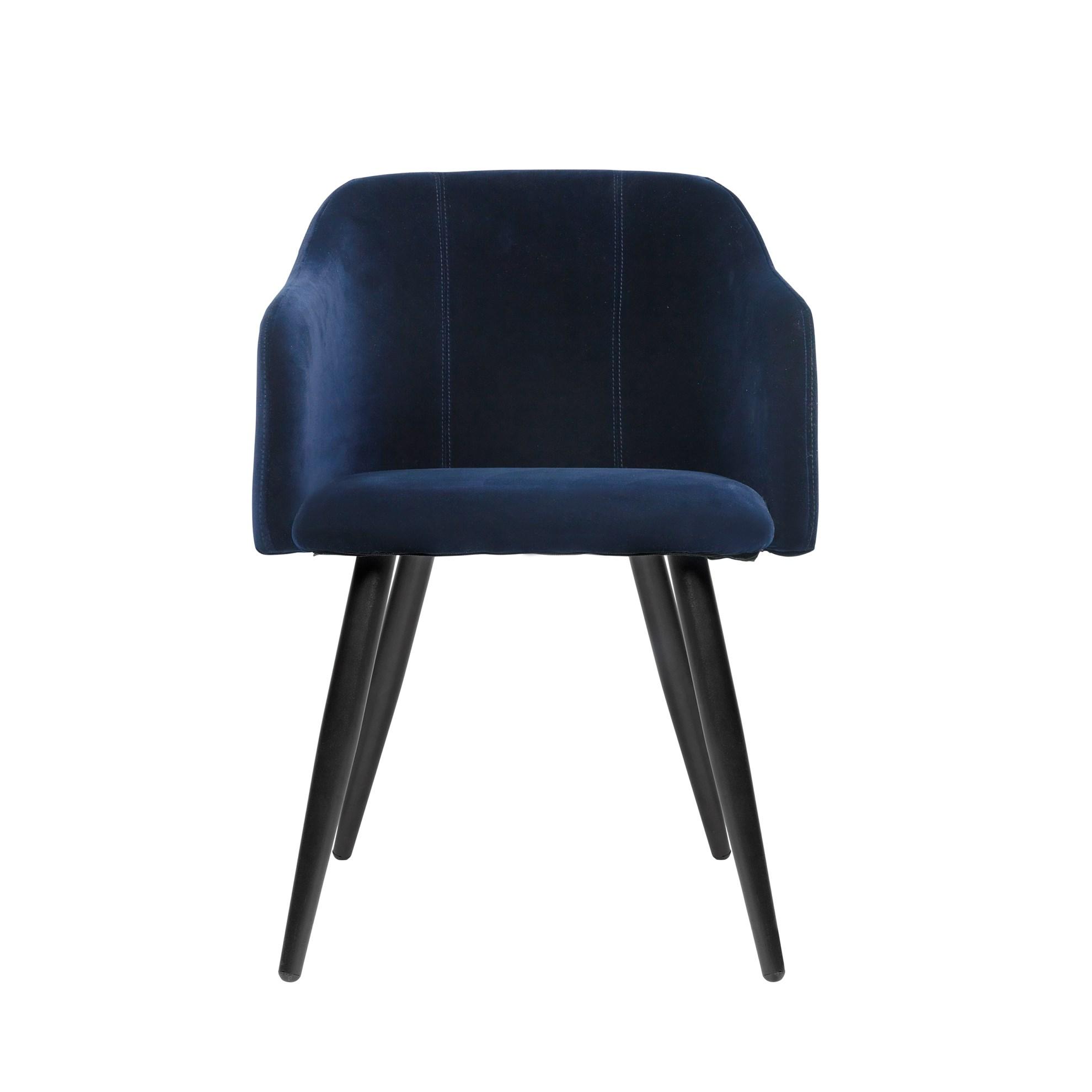 Jídelní židle PERNILLA tmavě modrá_0