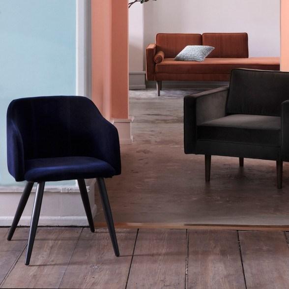Obrázek z Jídelní židle PERNILLA CARAMEL CAFE