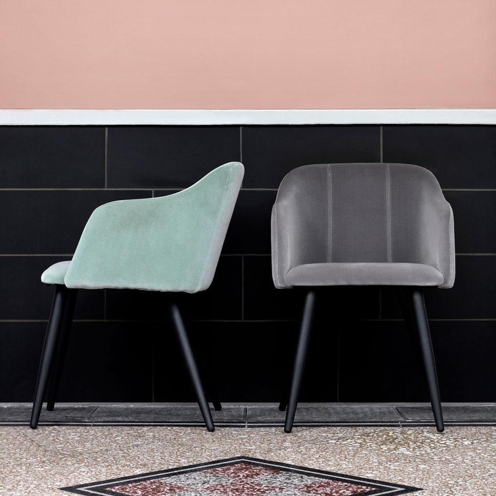 Obrázek z Jídelní židle PERNILLA šedá