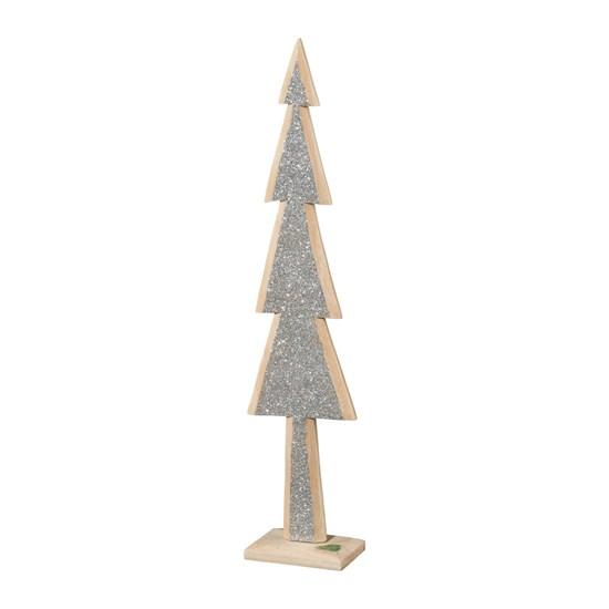 Dřevěný strom se třpytkami GLAM 46 cm_0