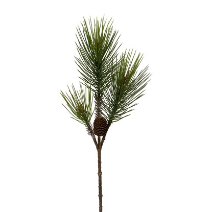 Dekorace větev borovice 64 cm_0