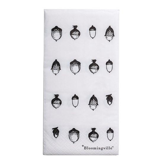 Papírové ubrousky Acorn bílé Bal. 16ks_0
