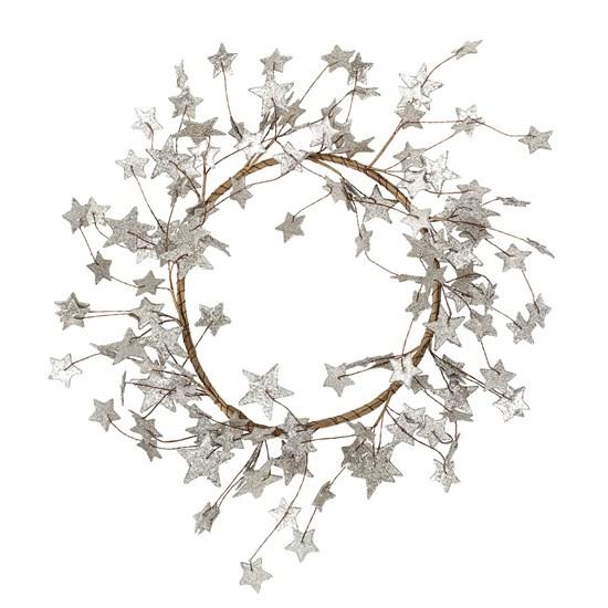 Vánoční věnec Deco Silver_0