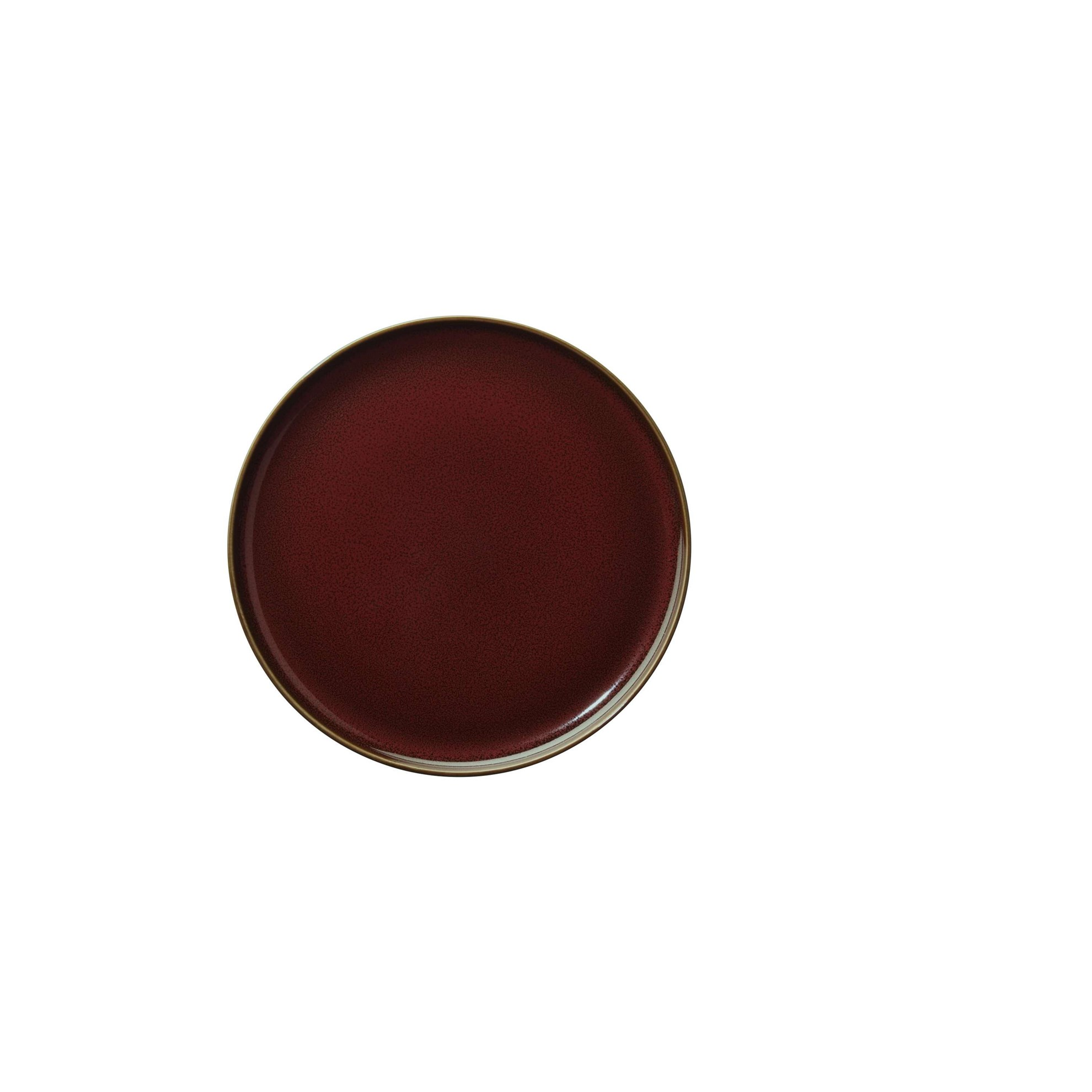 Dezertní talíř KOLIBRI 20 cm červený_0