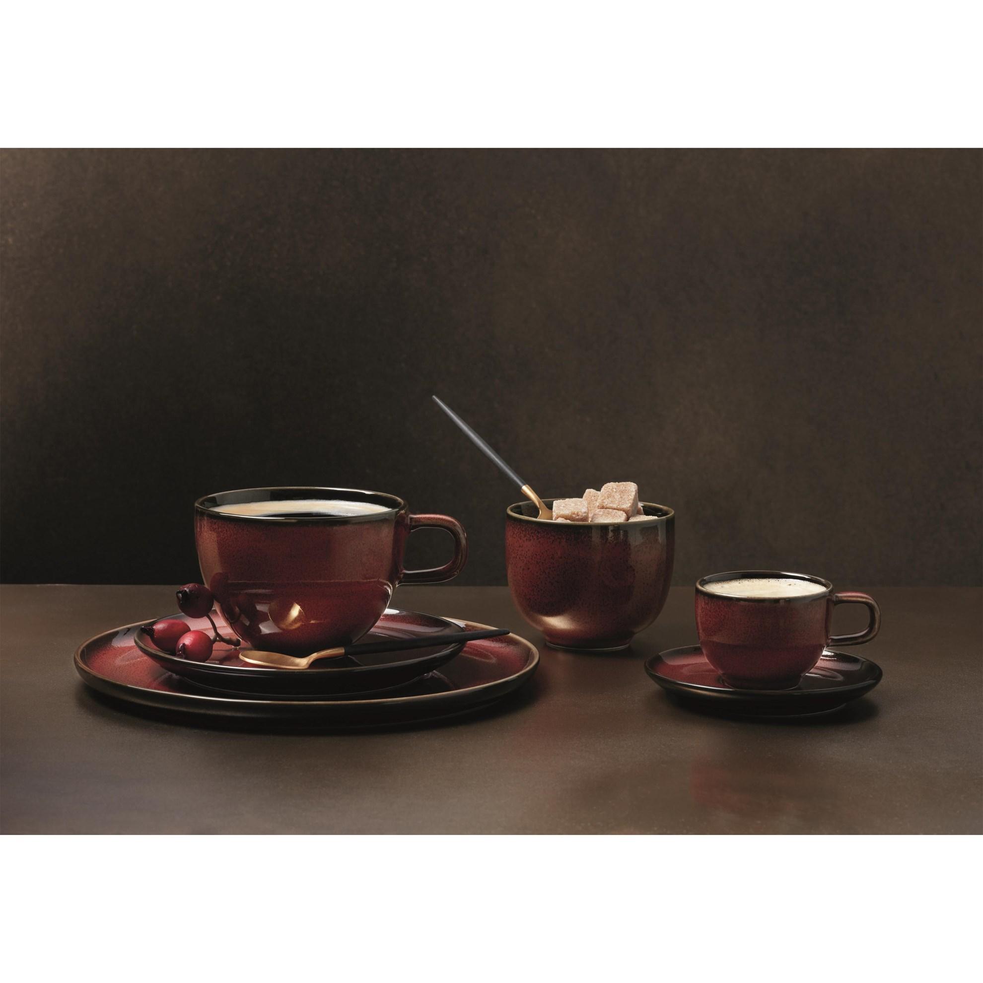 Šálek na espresso s podšálkem KOLIBRI 60 ml červený_0