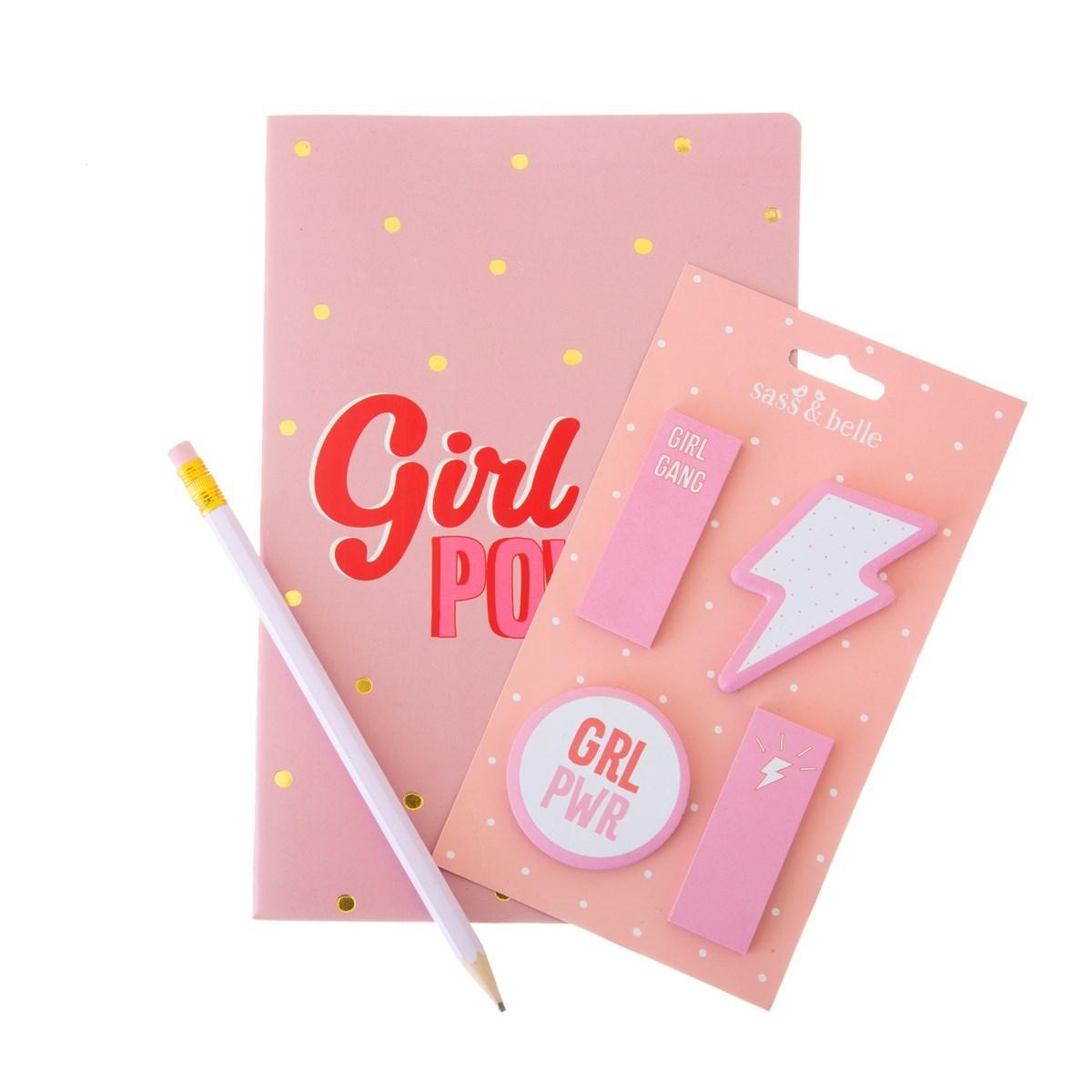 Samolepící papírky Girl Power_0
