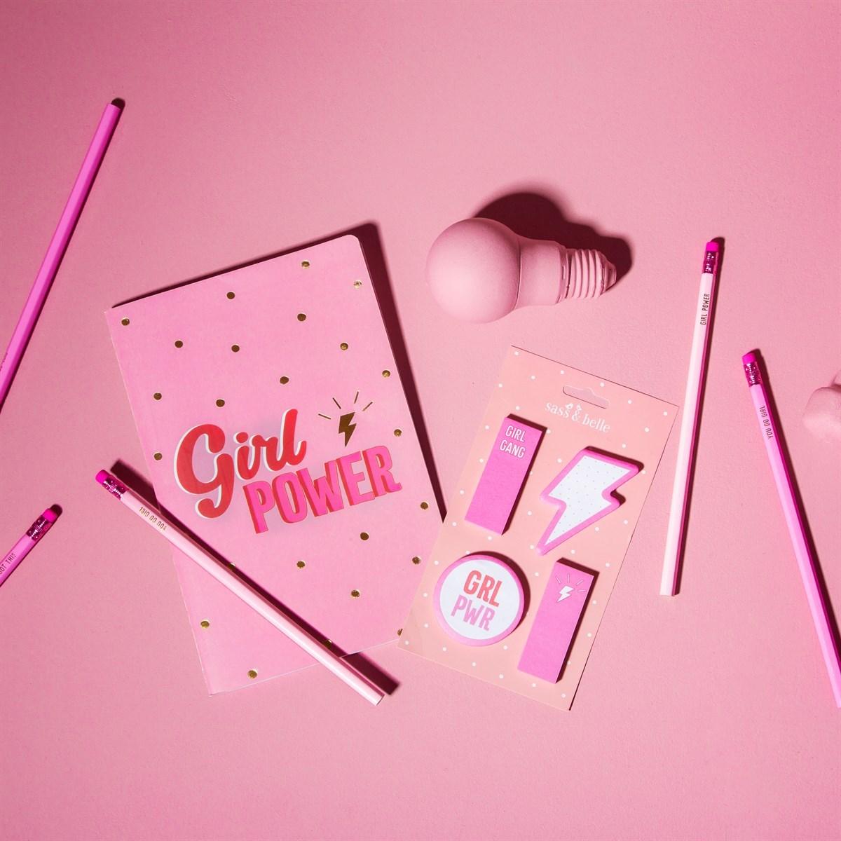 Samolepící papírky Girl Power_1