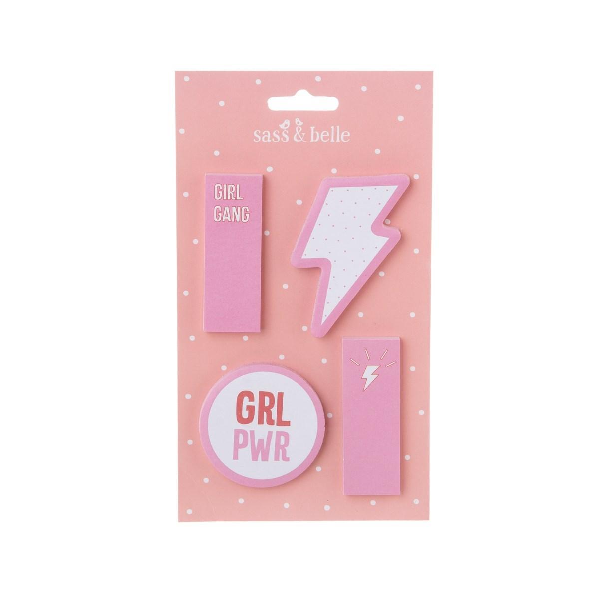 Samolepící papírky Girl Power_3