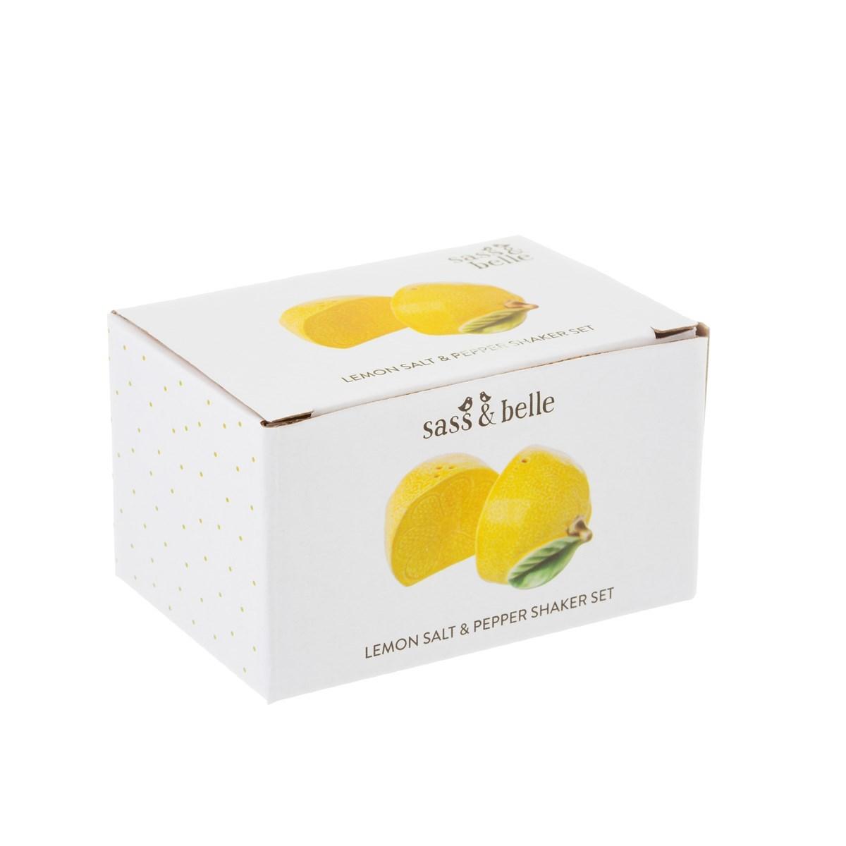 Slánka s pepřenkou Lemon Salt & Pepper SET/2ks_2