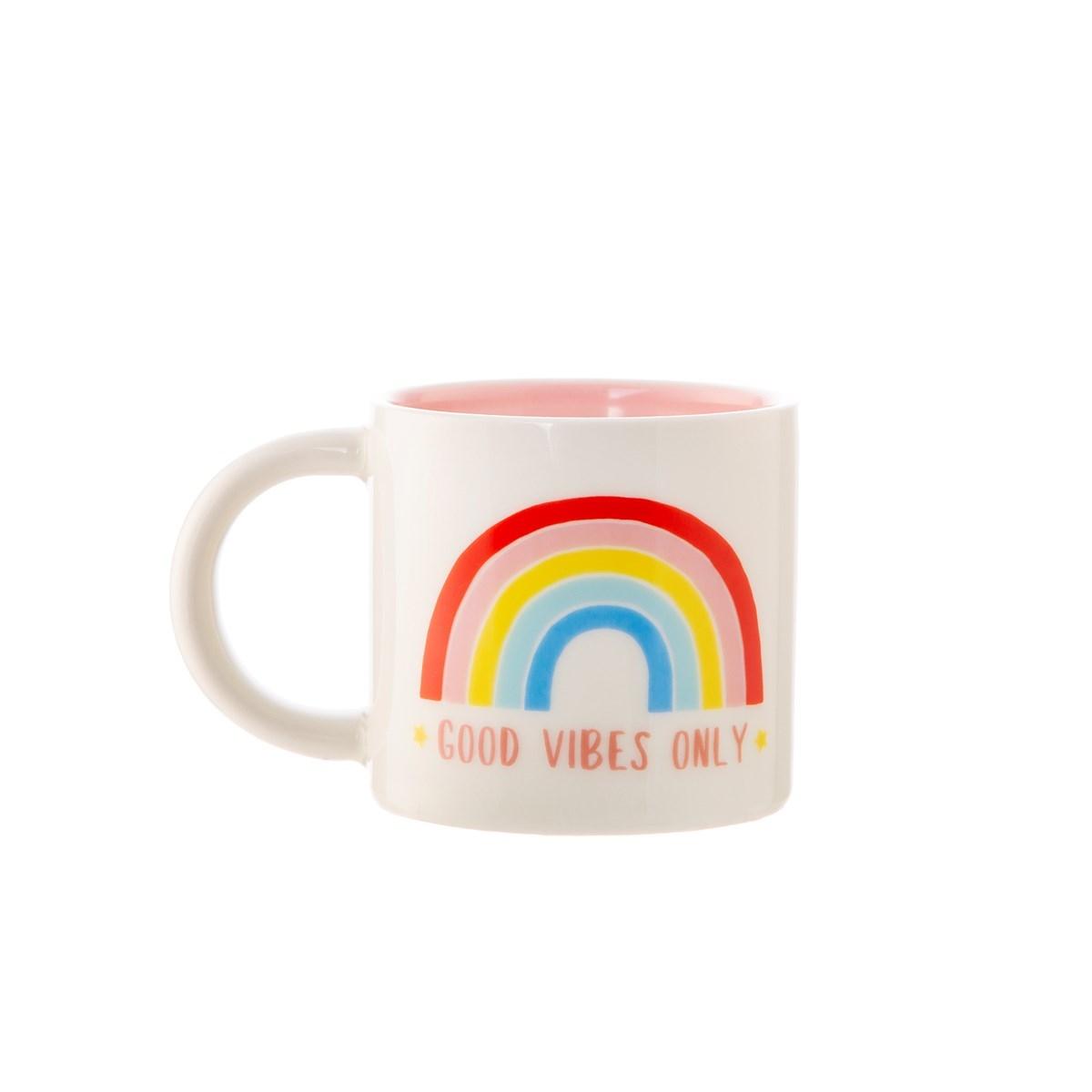 Hrnek Chasing Rainbows Good Vibes Only_0