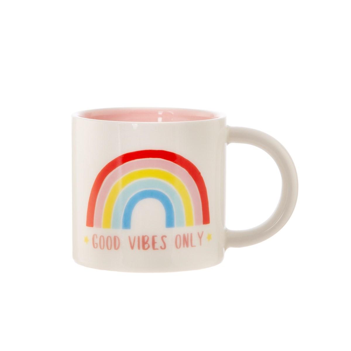 Hrnek Chasing Rainbows Good Vibes Only_1