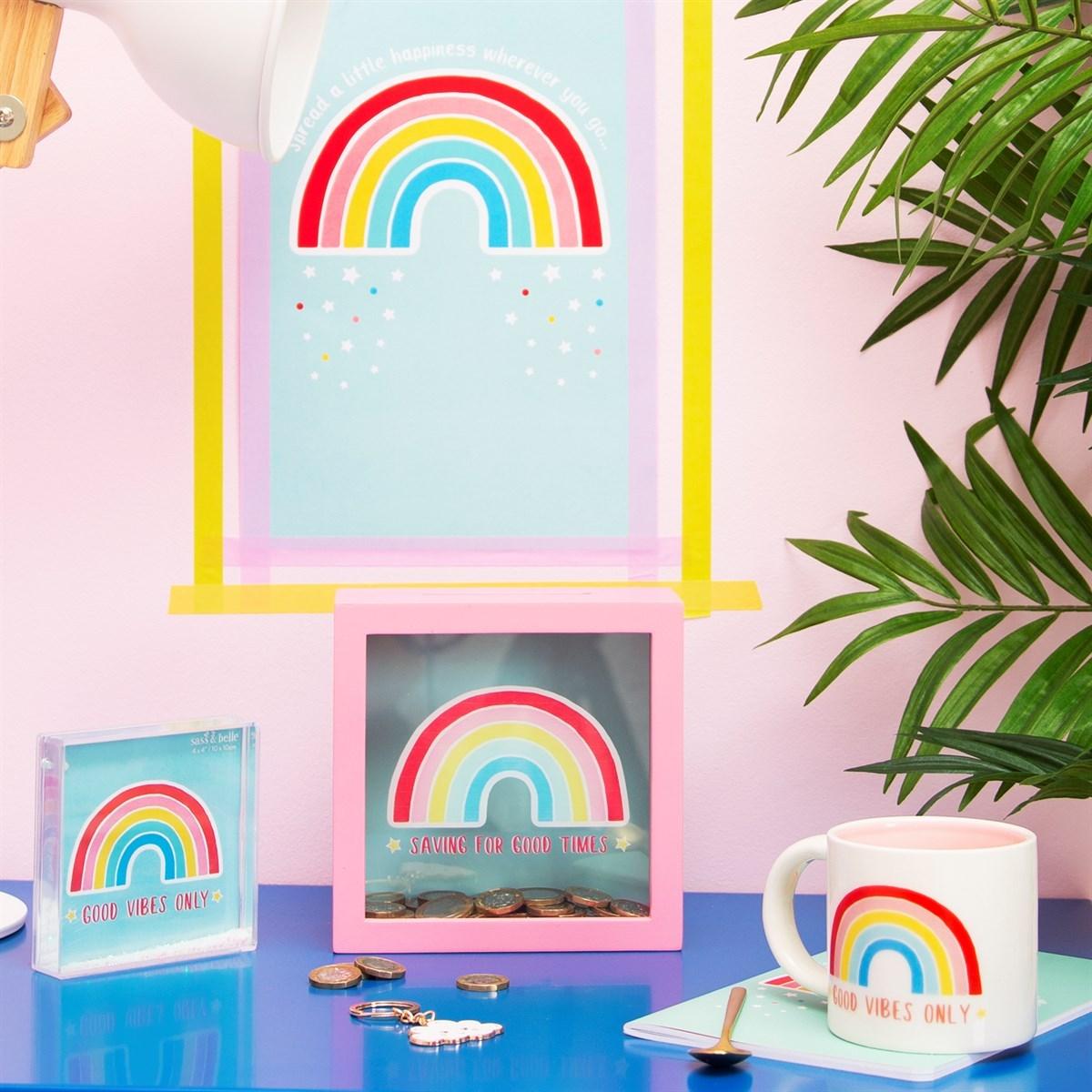 Hrnek Chasing Rainbows Good Vibes Only_4