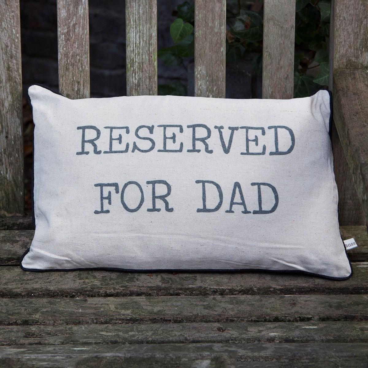 Povlak na polštář  vč. výplně Reserved For Dad_0
