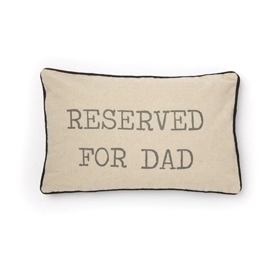 Povlak na polštář  vč. výplně Reserved For Dad_1