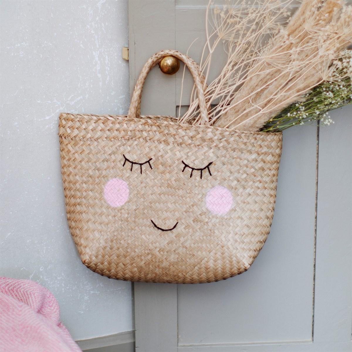 Nákupní košík/ taška Seagrass Happy_1