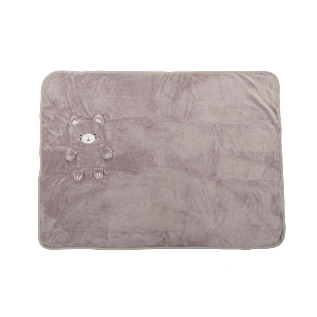 Dětská deka Kitty Cat Soft Fleece_1