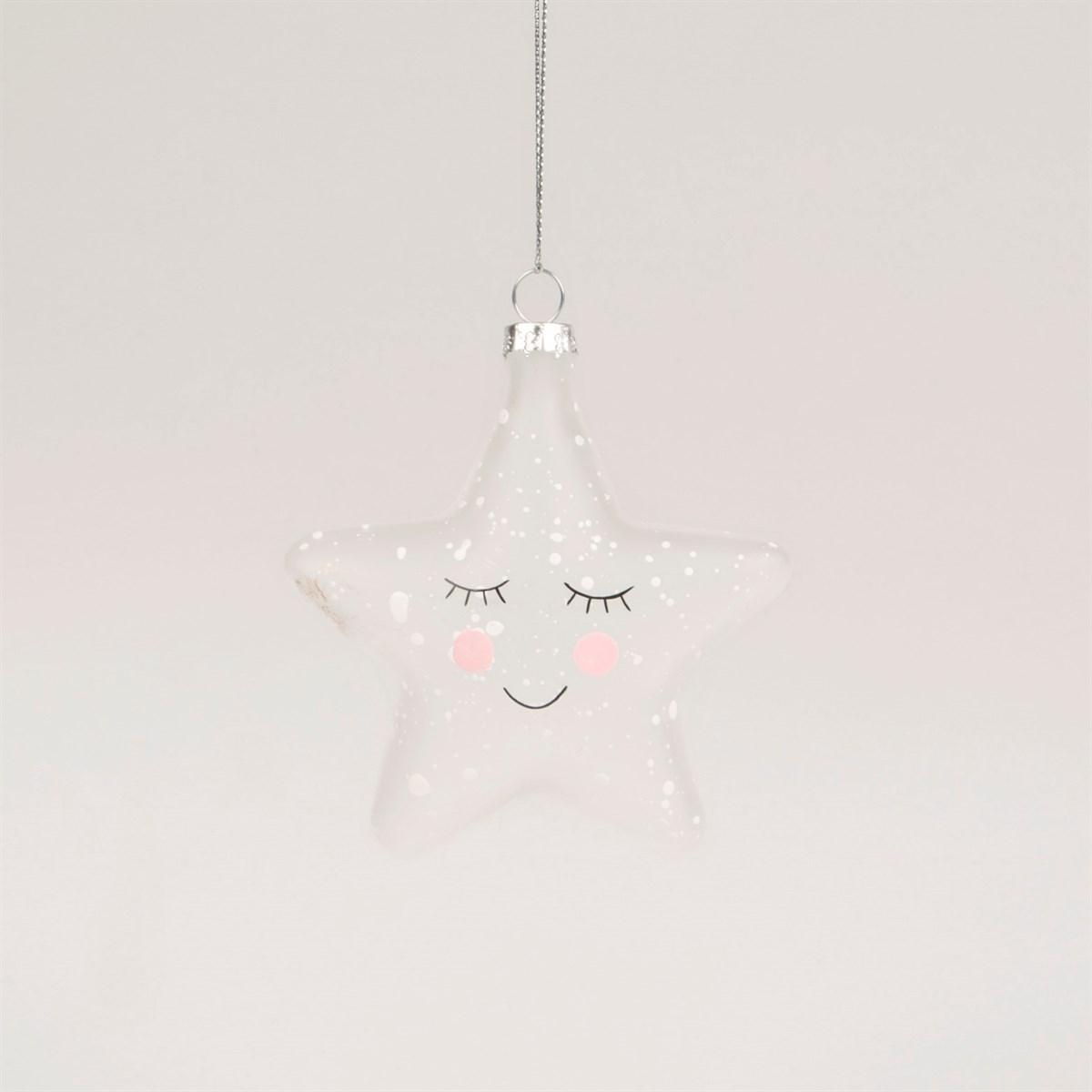Vánoční ozdoba Sweet Dreams Speckled Star_0