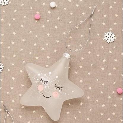 Vánoční ozdoba Sweet Dreams Speckled Star_1