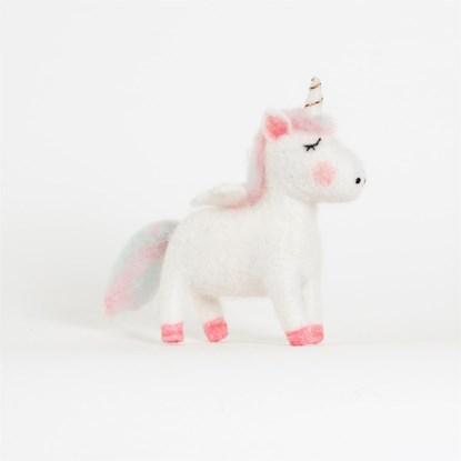 Ozdoba Unicorn Standing Felt_3