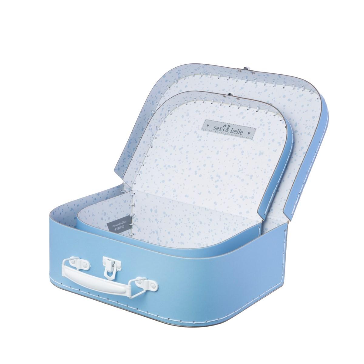 Kufříky Pastel Blue SET/2ks_2