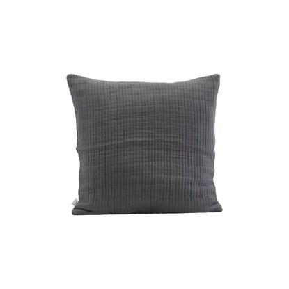Povlak na polštář Lia 50x50 cm tmavě šedý_0