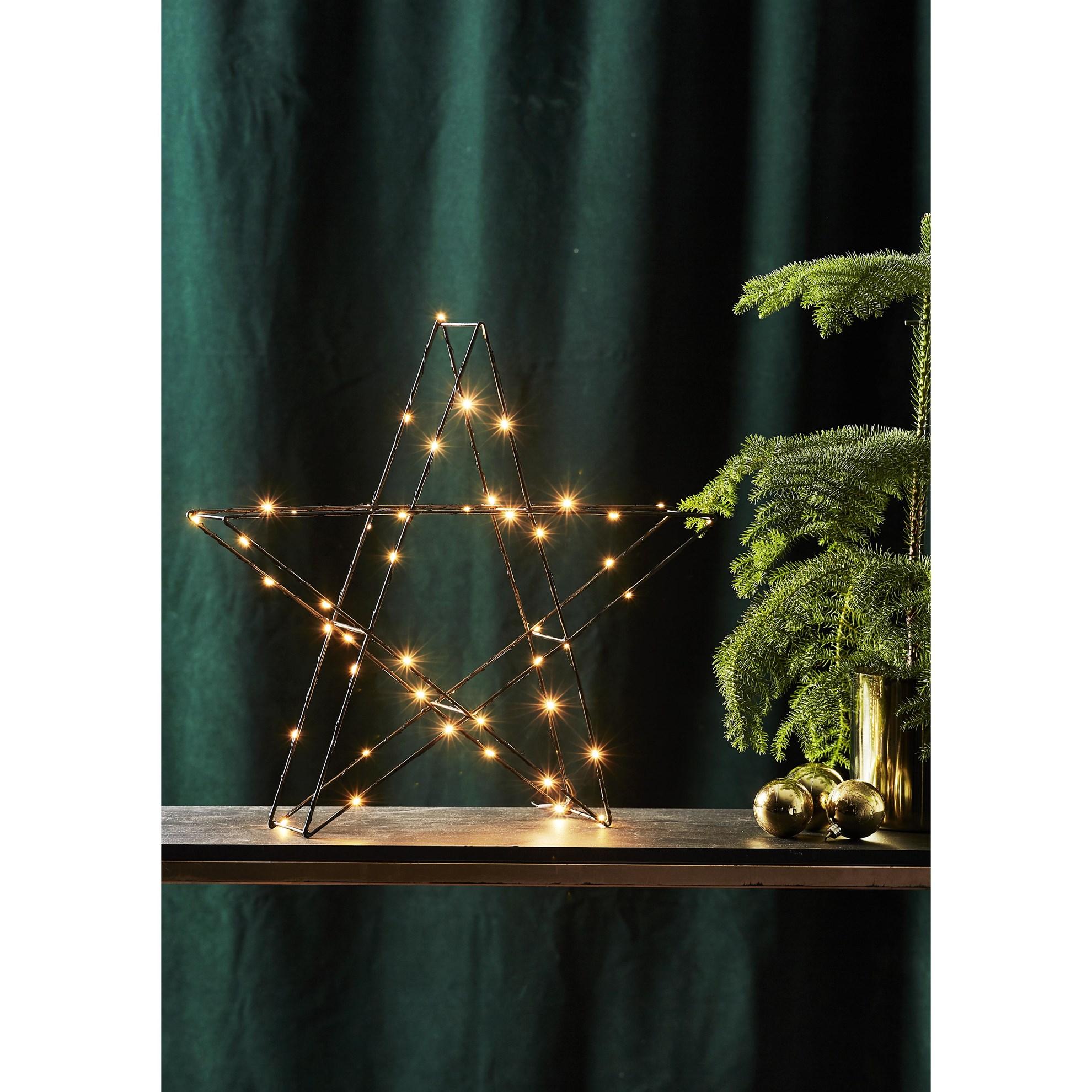 """LED dekorační hvězda """"Super"""" ca 45 cm, 50x LED_0"""