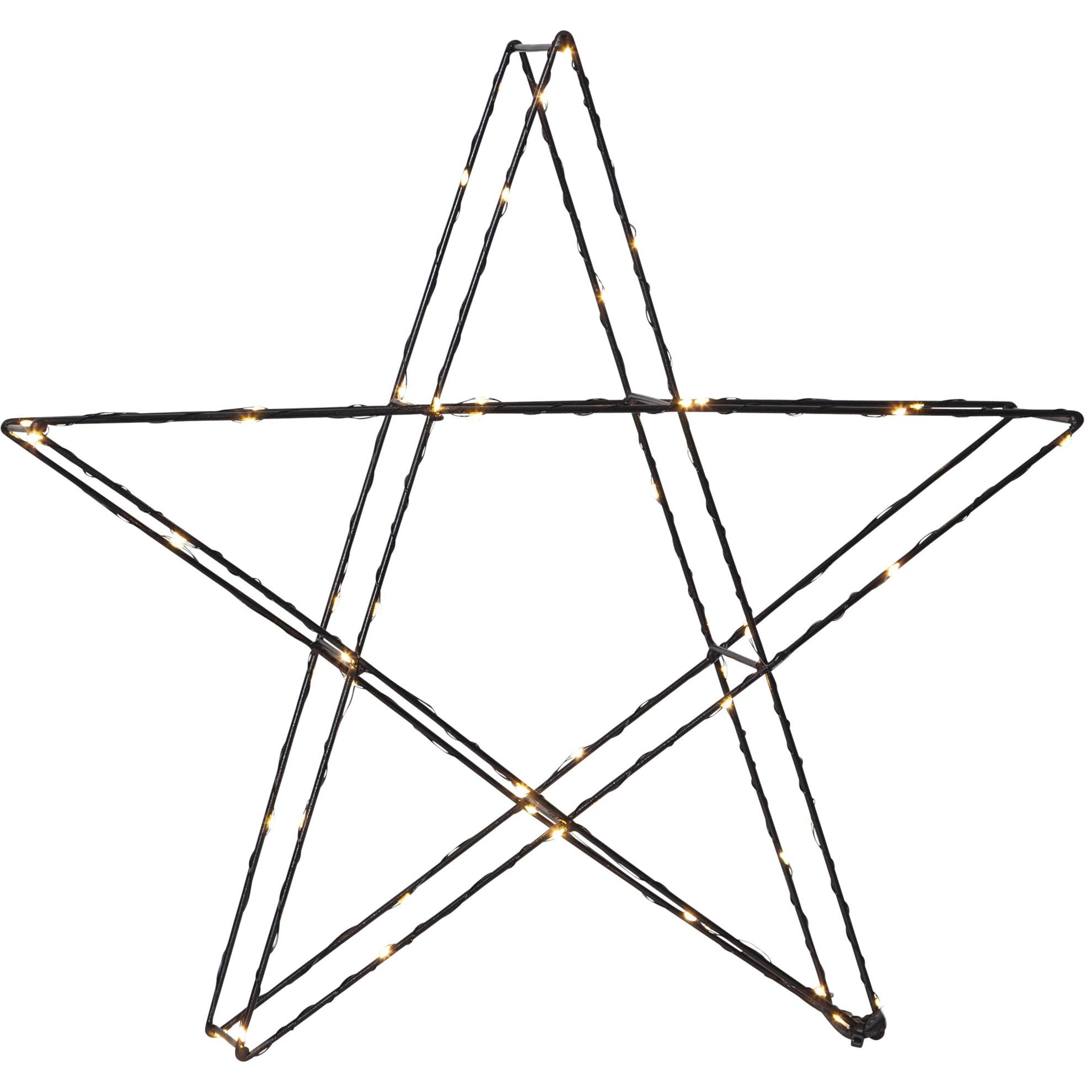 """LED dekorační hvězda """"Super"""" ca 45 cm, 50x LED_1"""