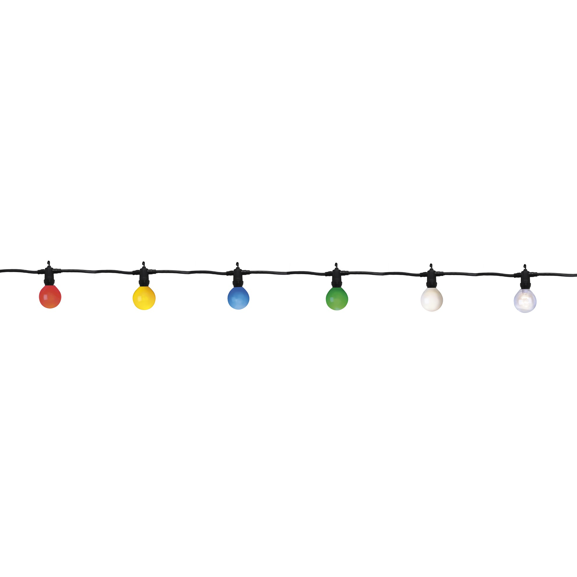 Světelný LED řetěz 10xE14 napojovatelný_0
