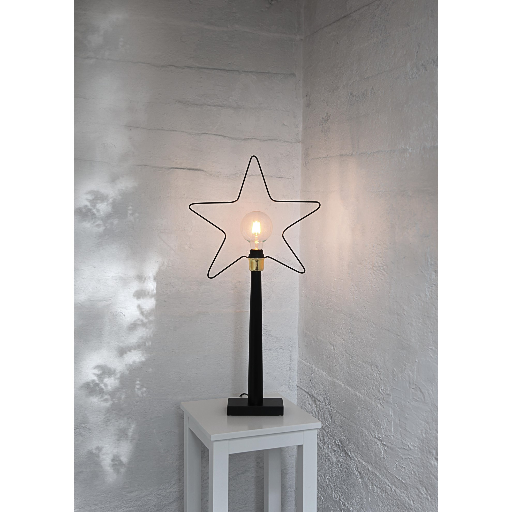Dekor. Stolní lampa hvězda RAMSVIK , E27 objímka_0