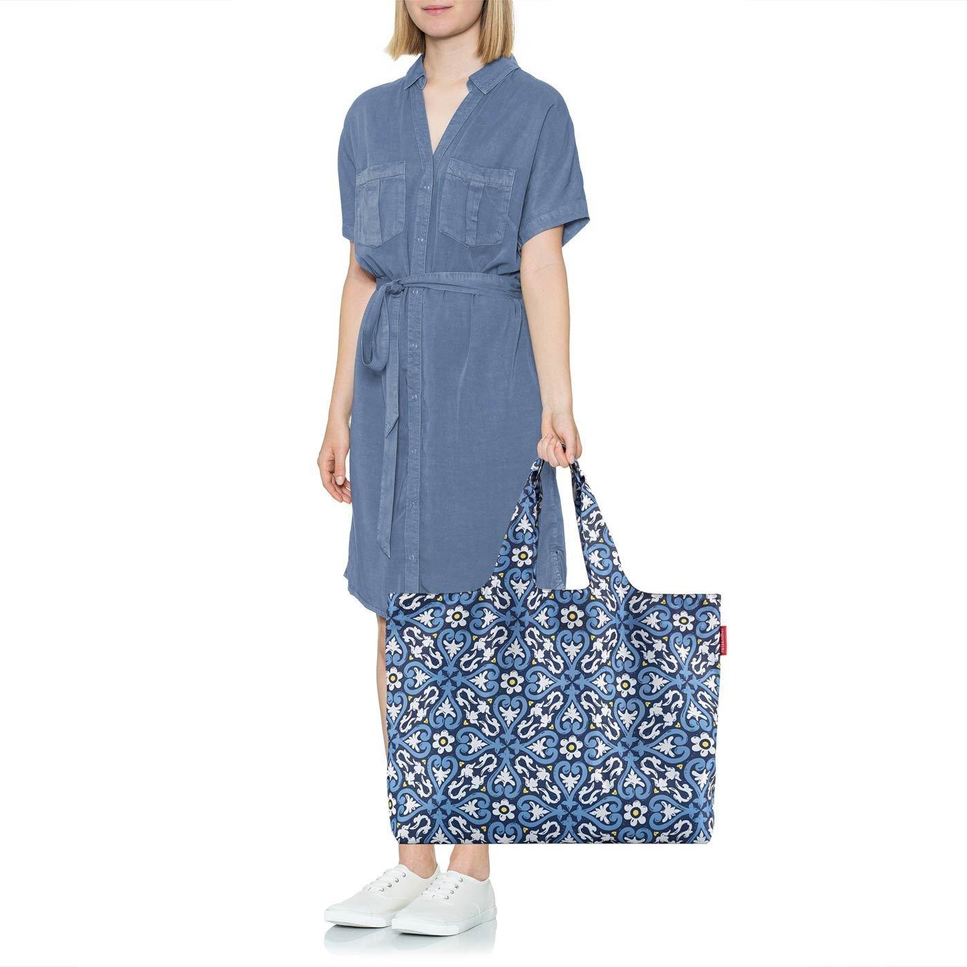 Skládací taška Mini Maxi Beachbag floral 1_1