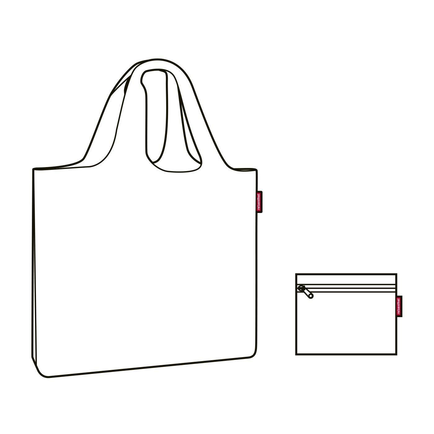 Skládací taška Mini Maxi Beachbag floral 1_2