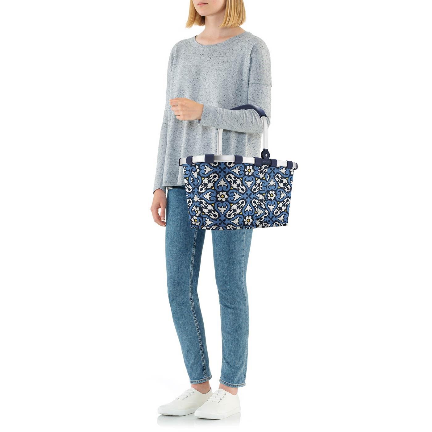 Nákupní košík Carrybag floral 1_4