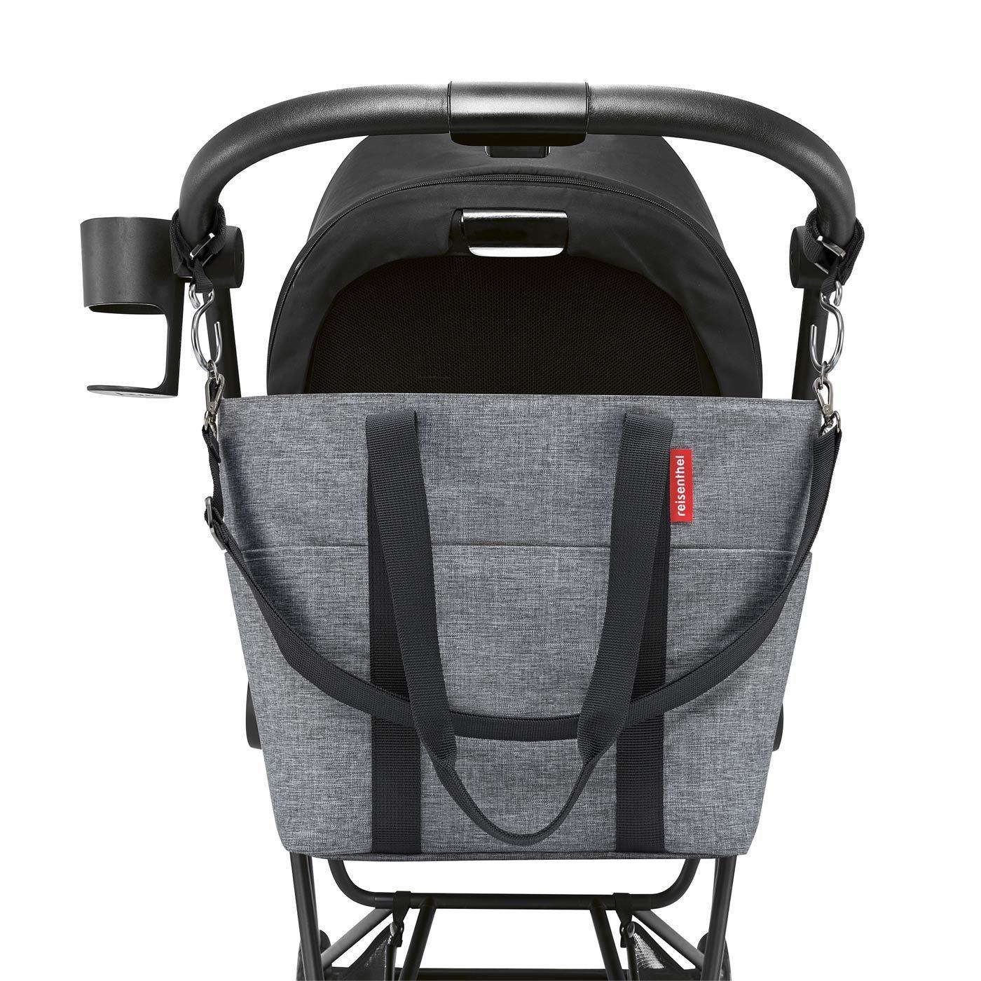 Taška na kočárek Baby Organizer twist silver_1