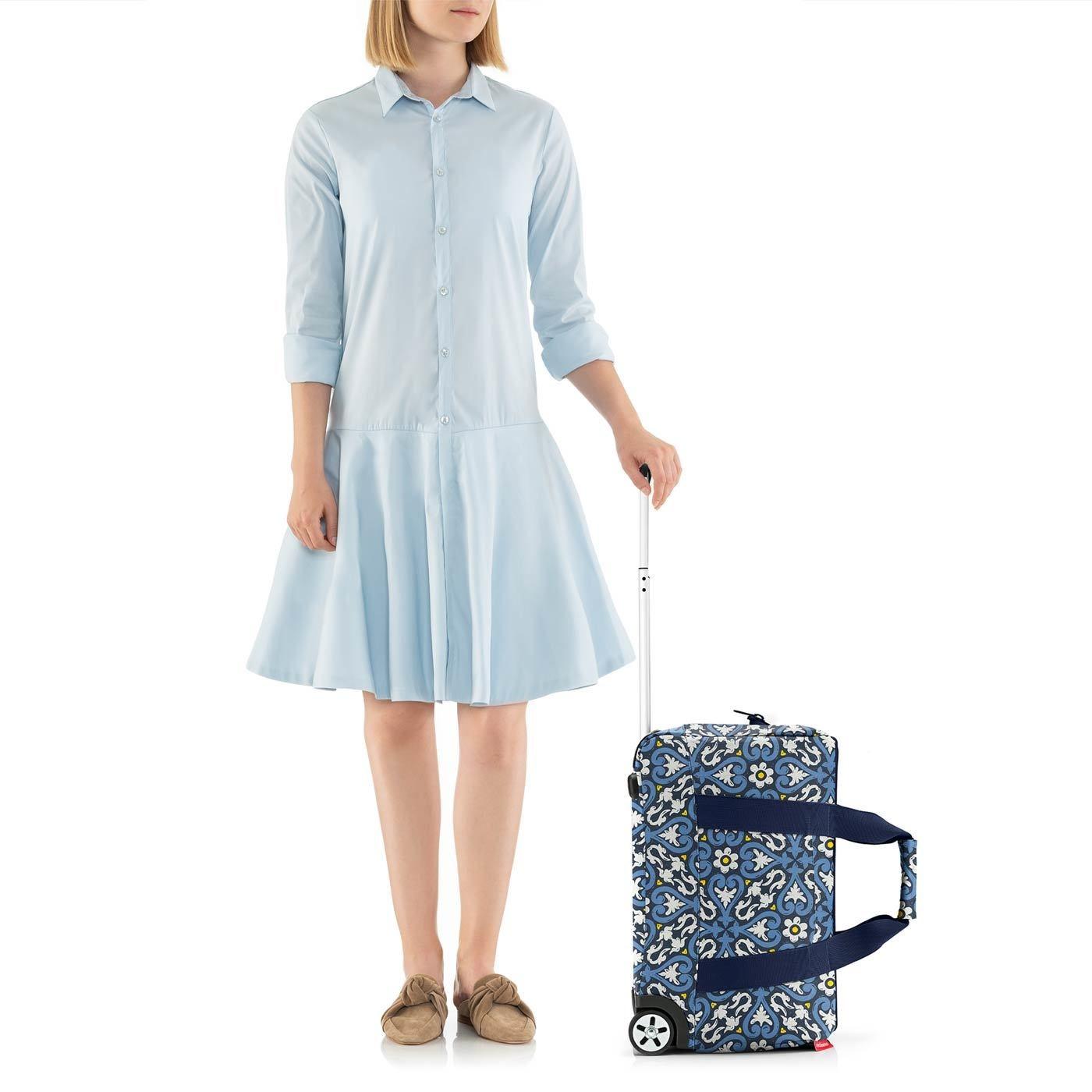Cestovní taška na kolečkách Allrounder trolley floral 1_3