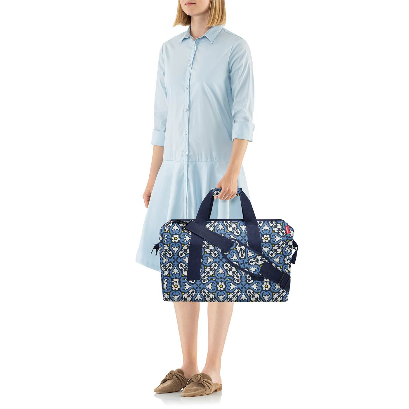 Cestovní taška Allrounder L floral 1_2