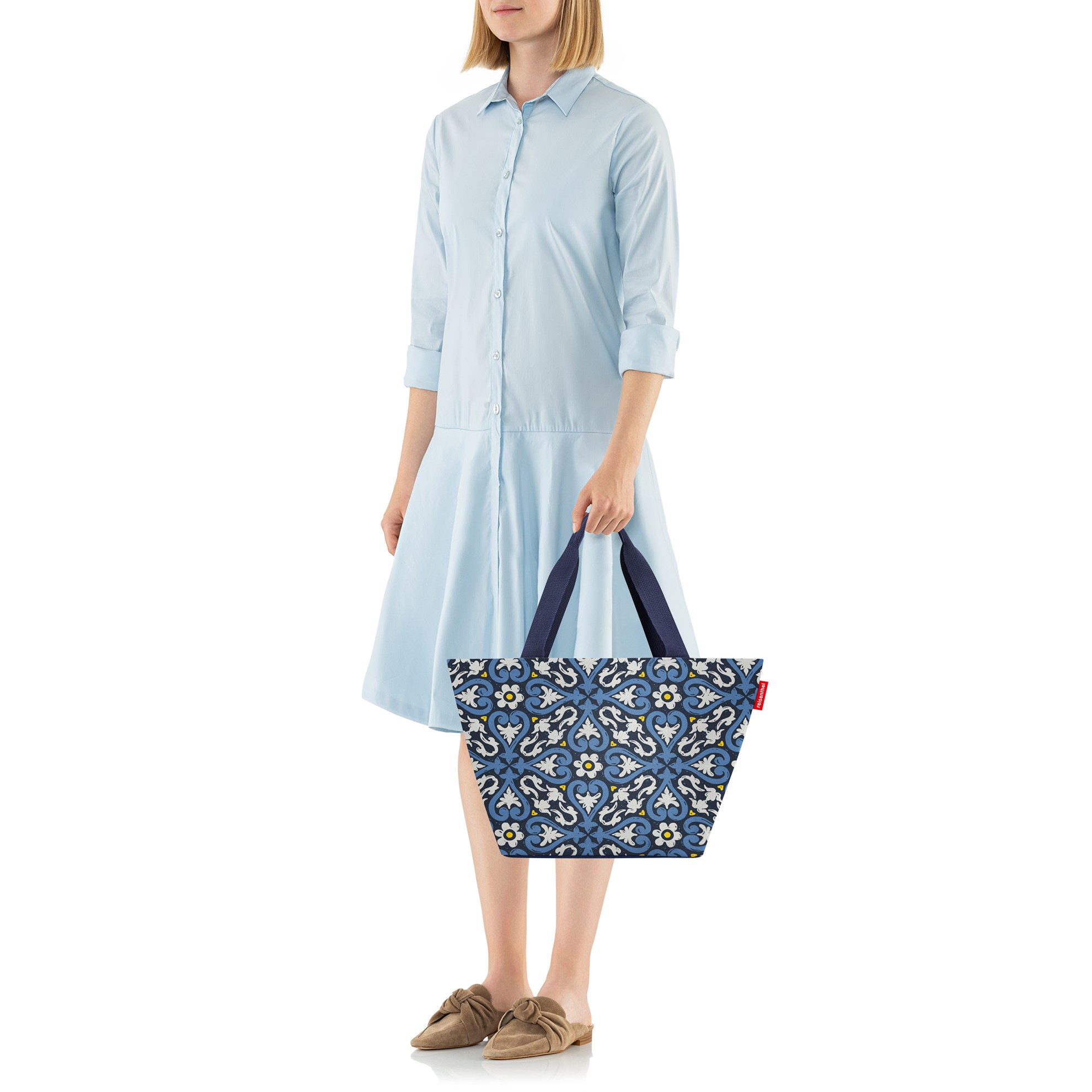 Nákupní taška Shopper M floral 1_1