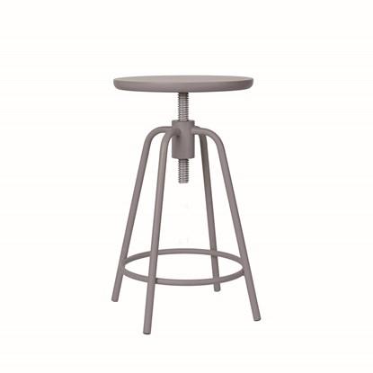 Otočná stolička AROUND šedohnědá_0