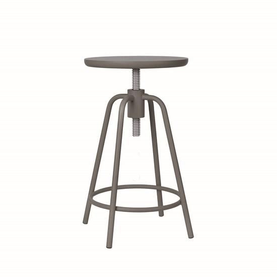 Otočná stolička AROUND šedá_0