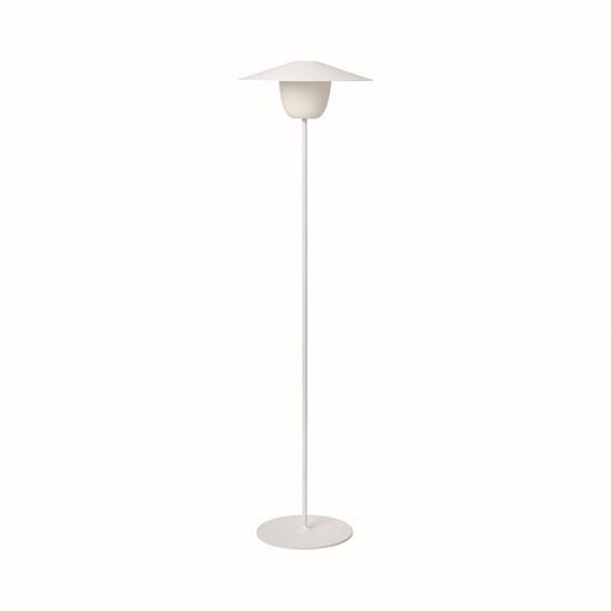 Přenosná LED lampa 120 cm bílá_0