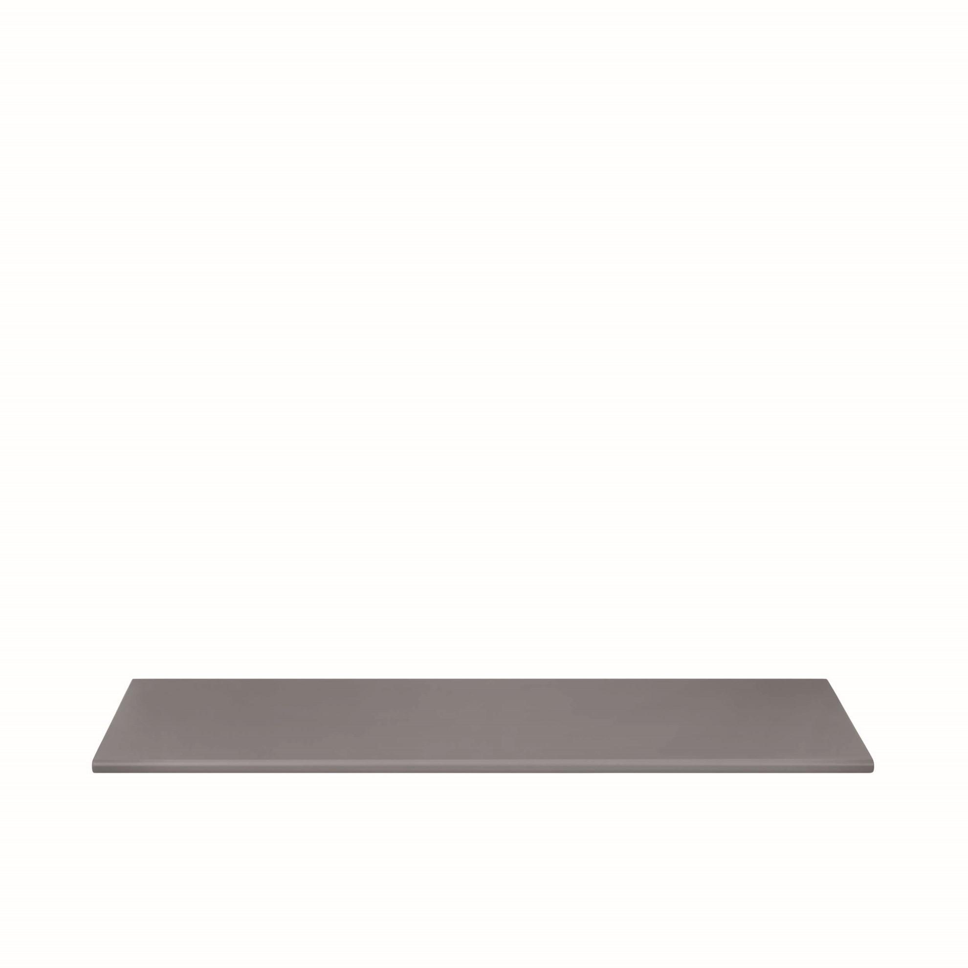 Polička PANOLA 80 cm tmavě šedá_1